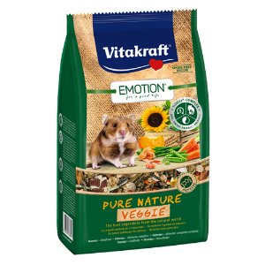 [비타크래프트]Emotion Pure Nature VeggieHamster 600g(33784)